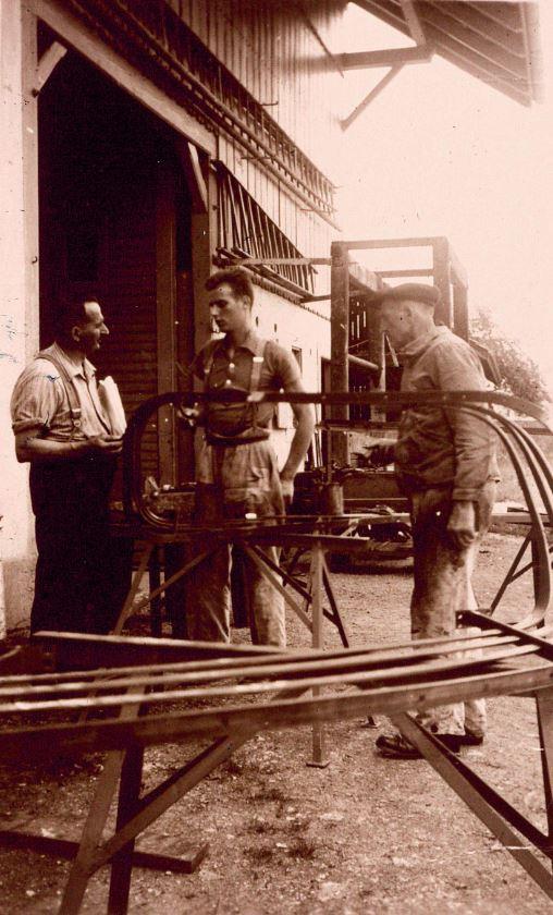 Treppengeländer, Gottlieb Tschudin, 1935