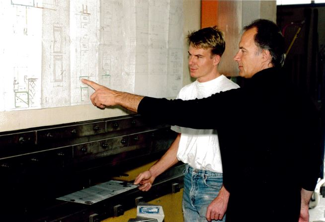Peter Tschudin-Sutter 1943 & Peter Tschudin-Huber 1971