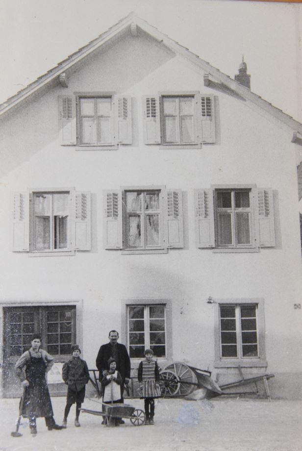 Schlosserei Reinfelderstrasse 28, Gottlieb Tschudin, 1930