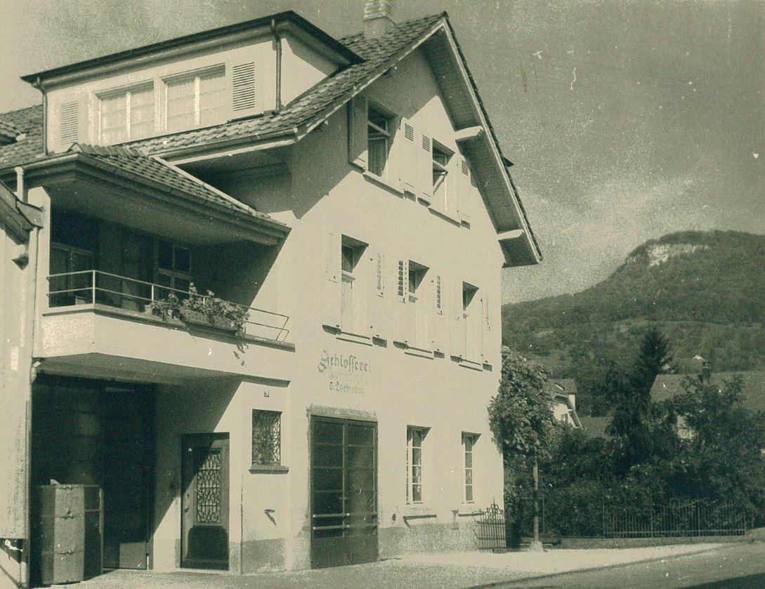 Schlosserei Rheinfelderstrasse 28, 1940